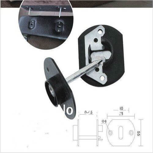 This is sectional sofa connector image