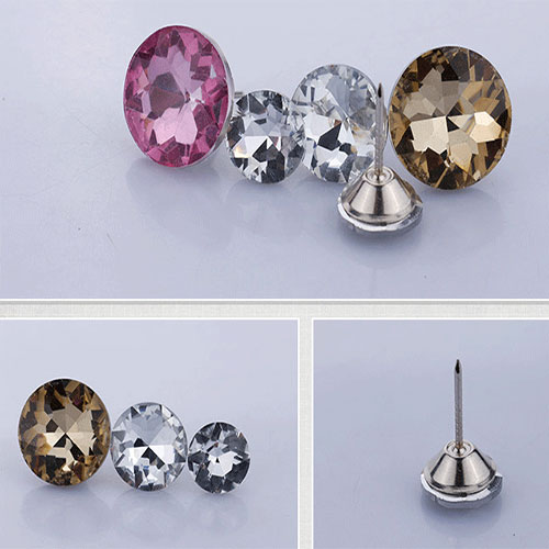 This is crystal button photo
