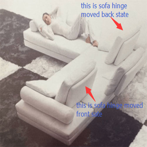 sofa back rest hinge